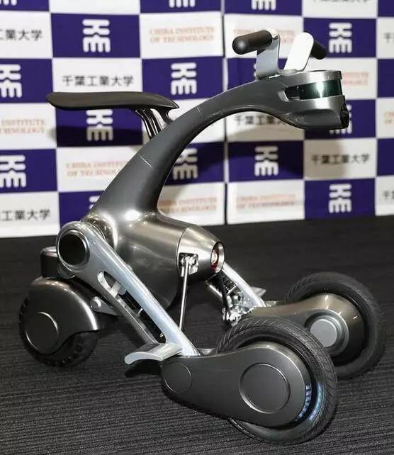 能秒变摩托车的机器人,你见过没有?而且准备量产