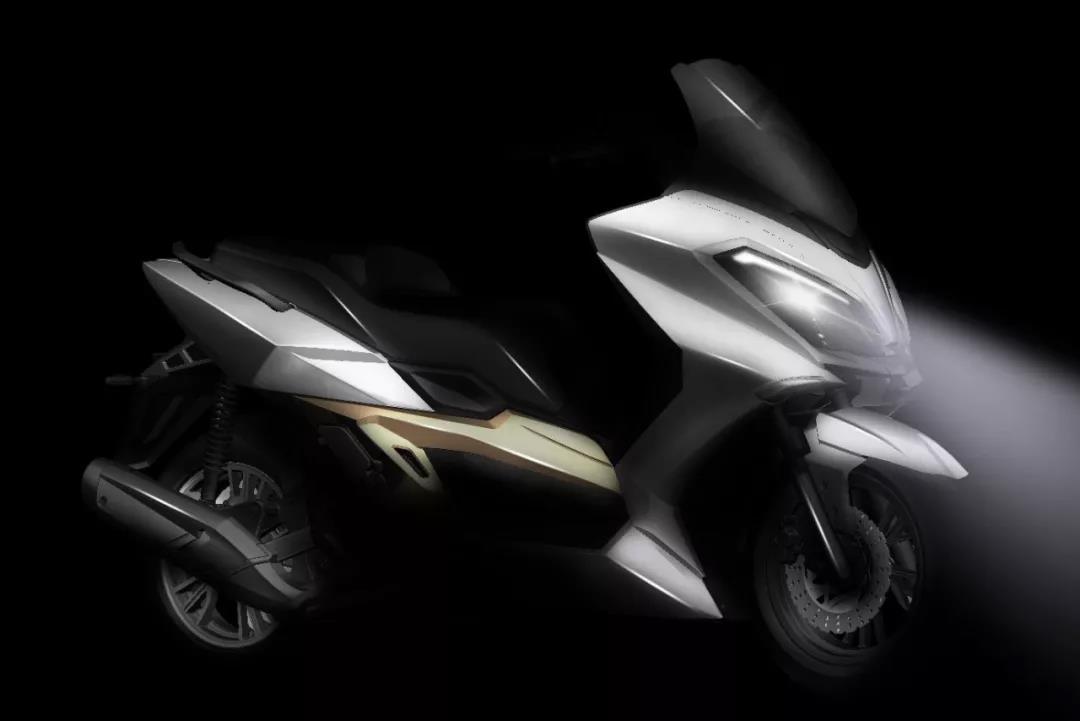 首颗纯国产300cc发动机,台荣水冷大踏板将于重庆摩博会亮相