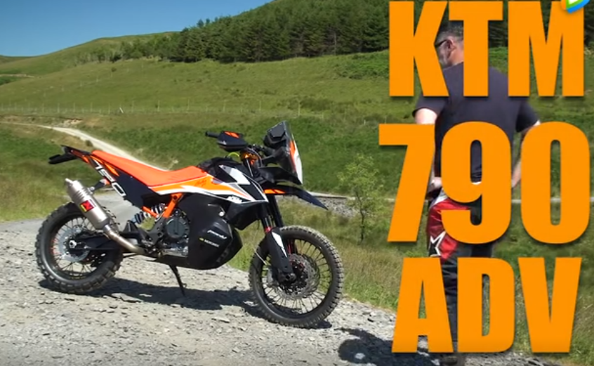 KTM中量级全新探险车 790 ADVENTURE 首秀照!