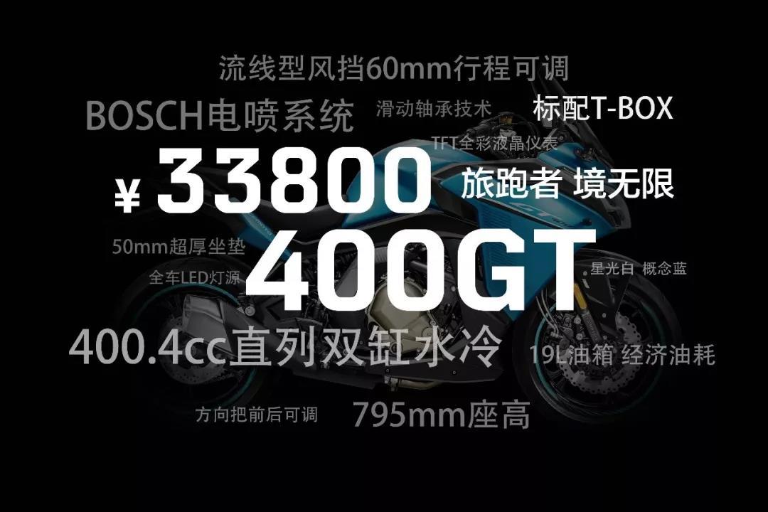"""新年首個""""大禮物"""" 春風400GT正式上市發售"""