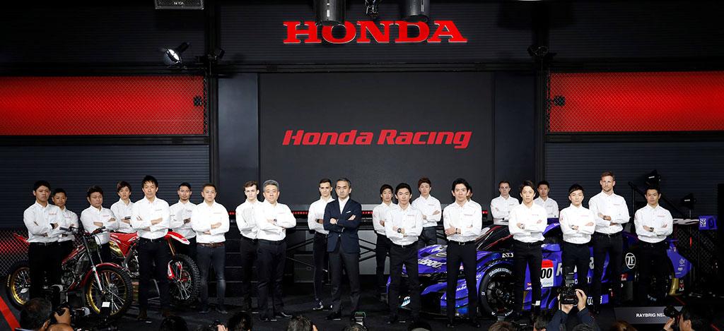 本田發布2019年兩輪車比賽陣容