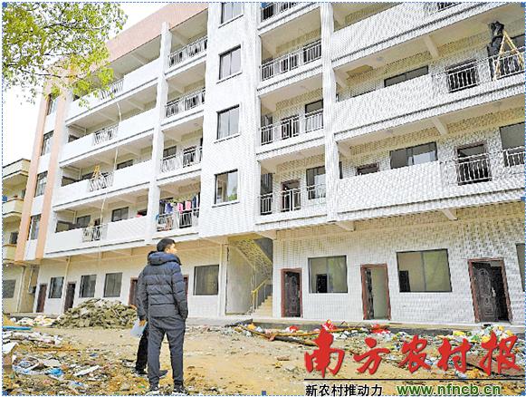 """为解决乡镇干部""""走读""""问题,肇庆市建设周转房2511套,只住不售"""