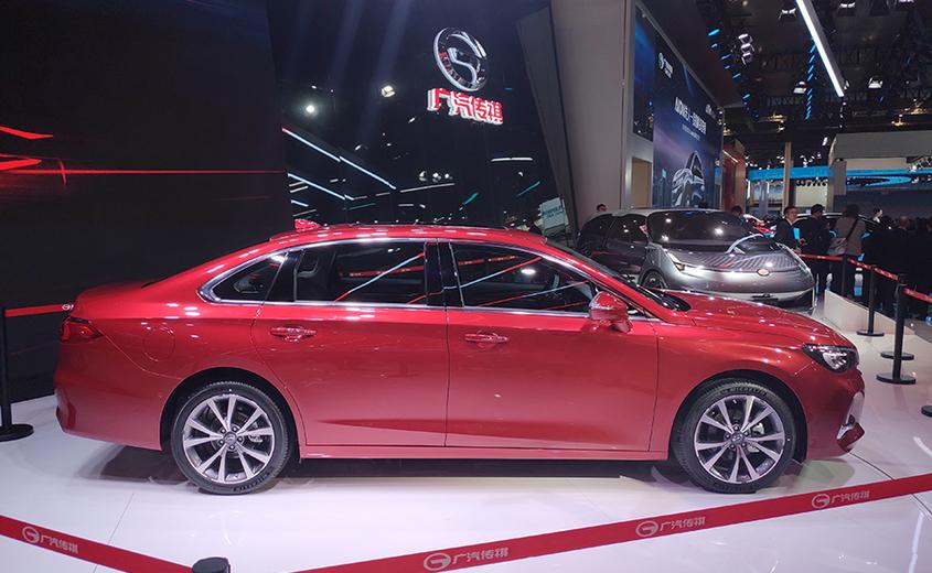 廣汽傳祺全新GA6&概念電動車ENTRANZE亮相上海車展