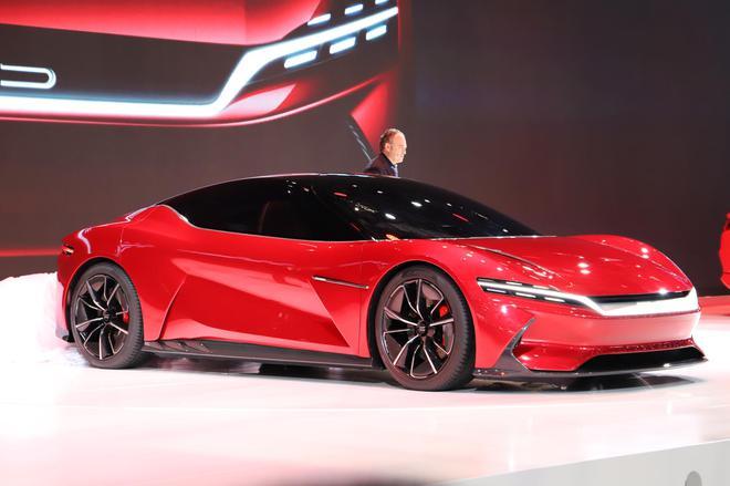 比亞迪攜E-SEED GT概念車等多款新車亮相上海車展