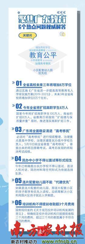 广东高校未来3年增加8万学位