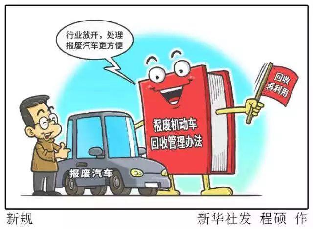 报废机动车回收管理下月实施,摩托车13年强制报废会变化吗