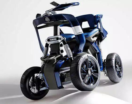 你見過沒有,雅馬哈仿高端老人電動四輪車?
